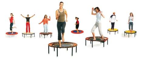 abnehmen mit trampolin übungen